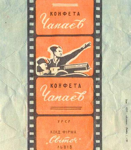 Фото этикеток советских конфет