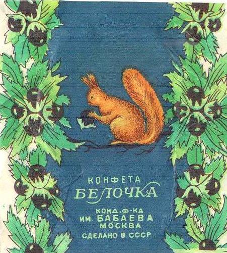 Какие конфеты были в СССР фото