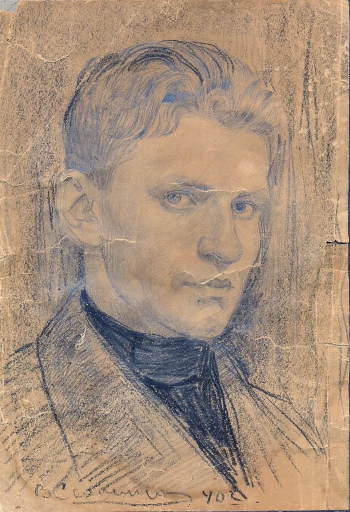 Автопортрет художника Сахненко