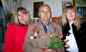Ветеран из Дружковки Болотов Г.М.