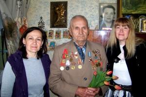 Дружковский ветеран Болотов Г.М.