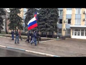 Пророссийские настроения в Дружковке