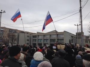 Пророссийские митинги в Дружковке