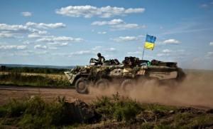 Украинские войска в Дружковке