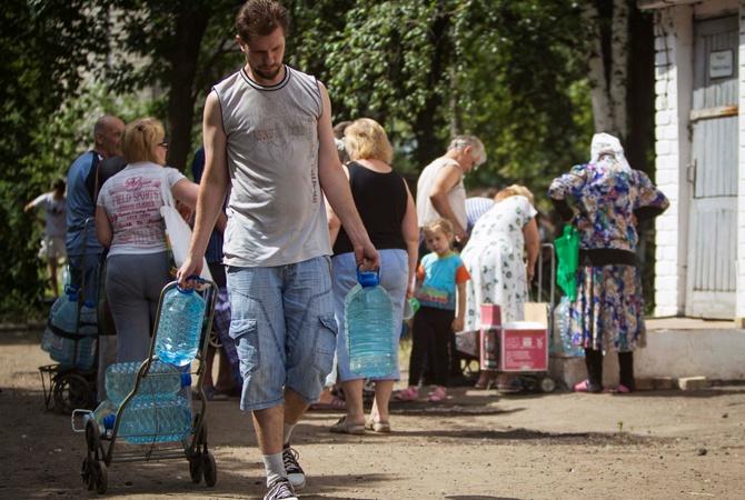 Лето вода Дружковка 2014