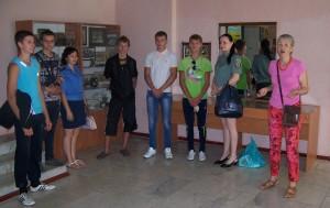 Посетители Дружковского музея