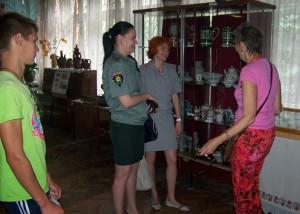 Гости Дружовского музея