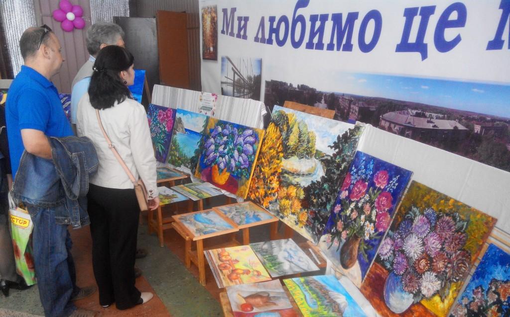 Дружковская выставка картин