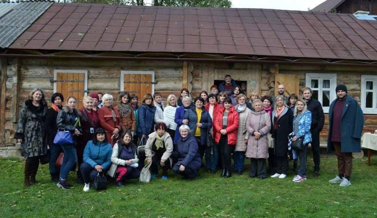 Музейщики в Прикарпатье