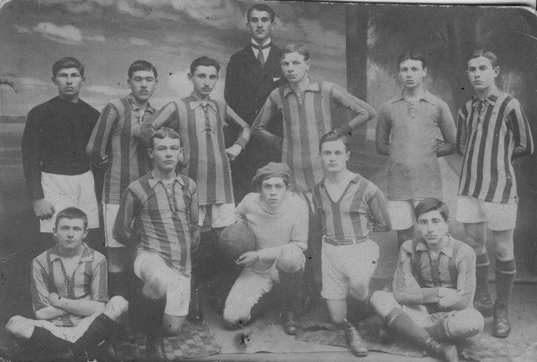 Дружковская футбольная команда 1920 год