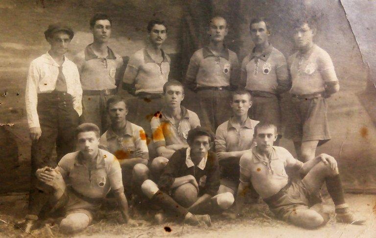 Дружковская футбольная команда 1923 год