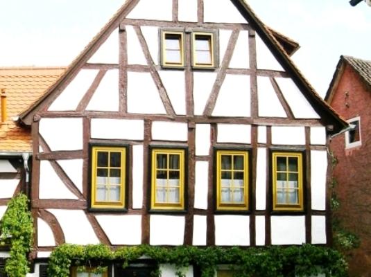 Дом в стиле Фахверк