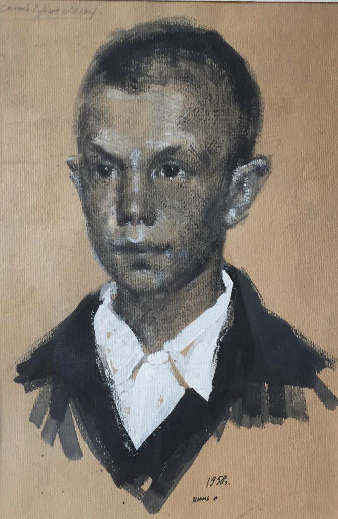 """М.І. Вайнштейн """"Хлопчик з Яковлівки"""""""